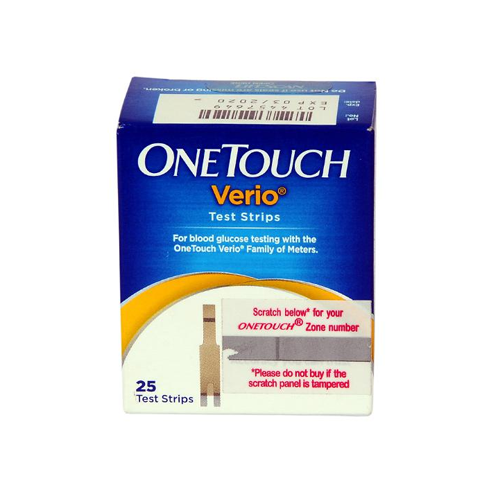 One Touch Verio Test Strips - 1